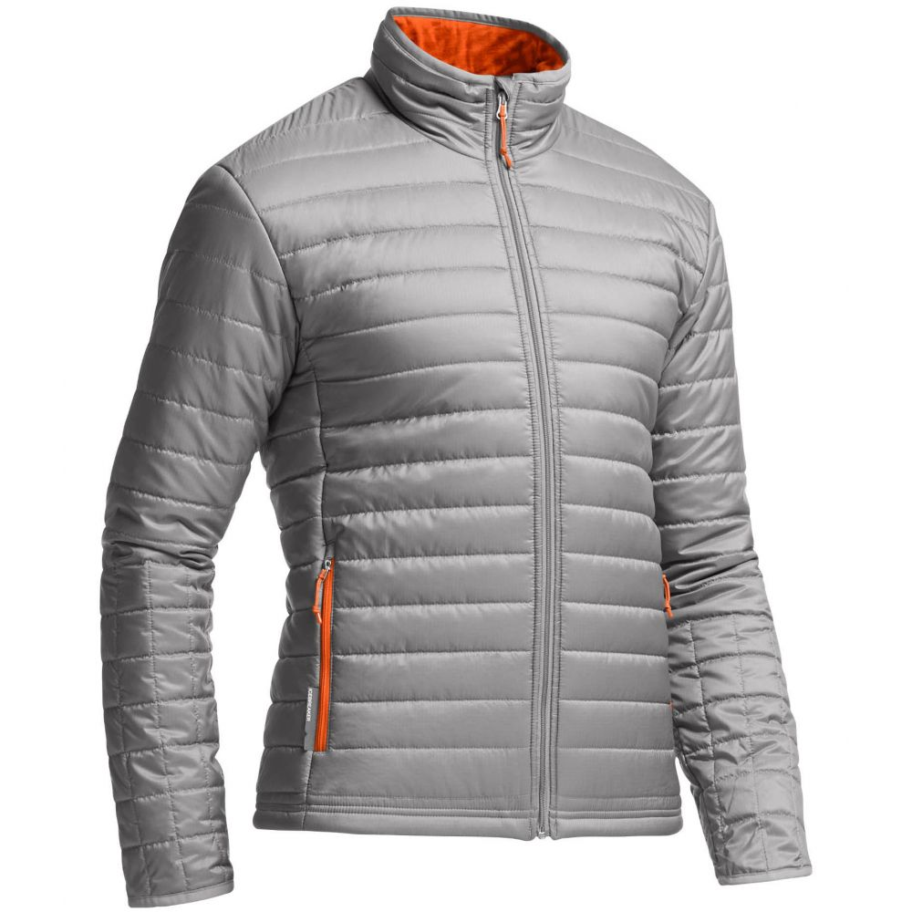 アイスブレーカー Icebreaker メンズ ジャケット アウター【Stratus L/S Zip Jacket】Fossil/Spark