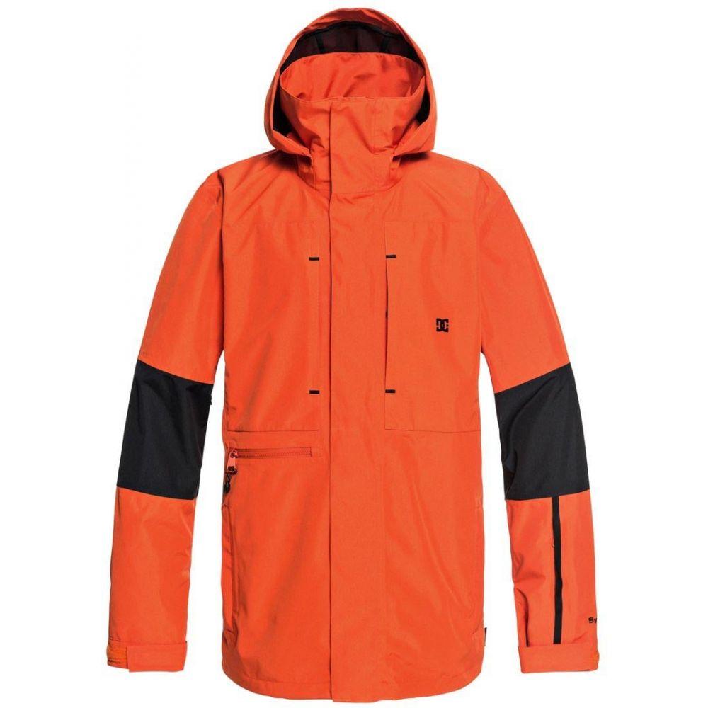 ディーシー DC メンズ スキー・スノーボード ジャケット アウター【Command Snowboard Jacket】Red Orange