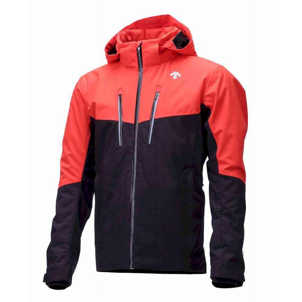 デサント Descente メンズ スキー・スノーボード ジャケット アウター【Cormac Ski Jacket】Black/Orange