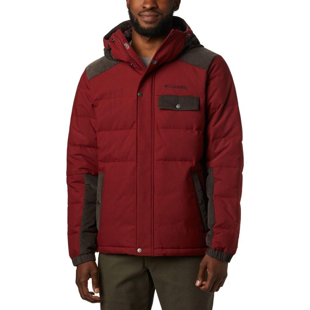 コロンビア Columbia メンズ ジャケット フード アウター【Winter Challenger Hooded Jacket】Red Jasper/Buffalo