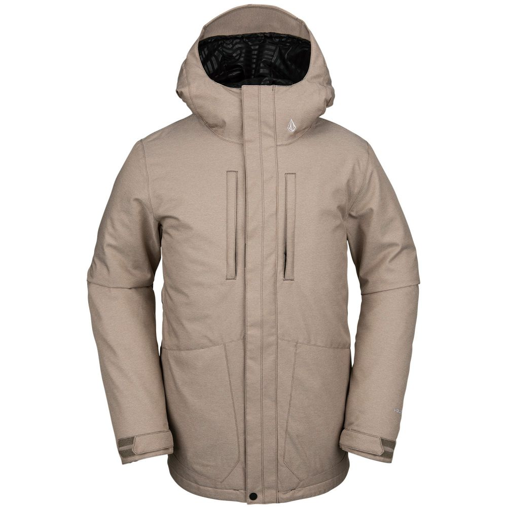 ボルコム Volcom メンズ スキー・スノーボード ジャケット アウター【Slyly Insulated Snowboard Jacket 2020】Teak