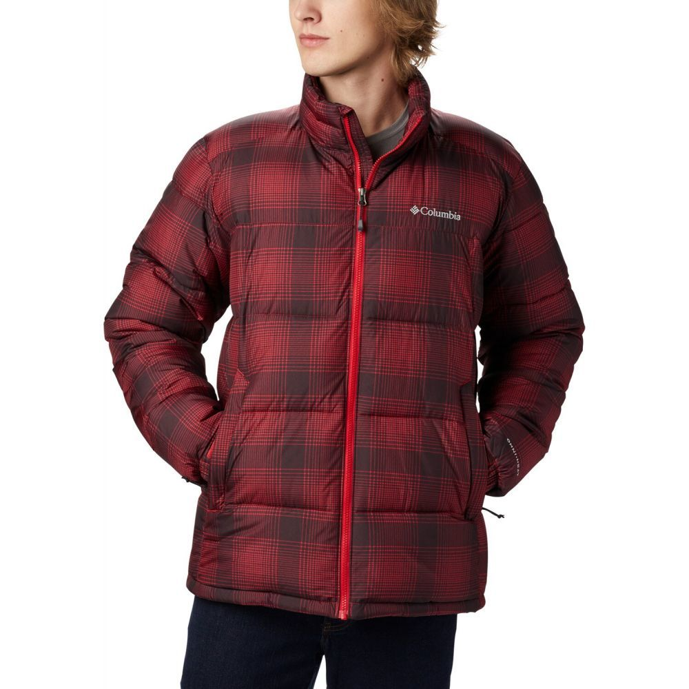 コロンビア Columbia メンズ スキー・スノーボード ジャケット アウター【Pike Lake Snowboard Jacket 2020】Mountain Red Check Print
