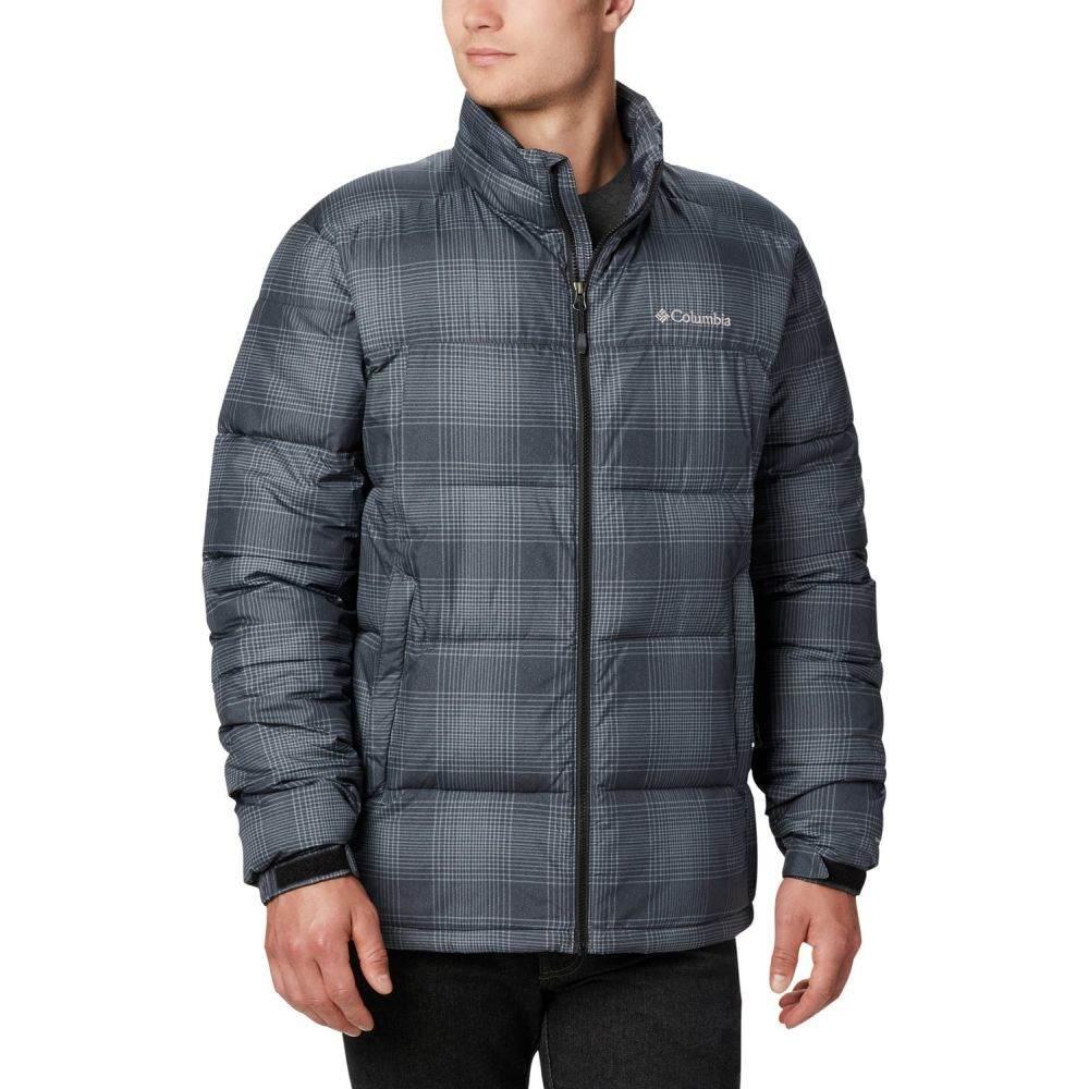 コロンビア Columbia メンズ スキー・スノーボード ジャケット アウター【Pike Lake Snowboard Jacket 2020】Black Check Print