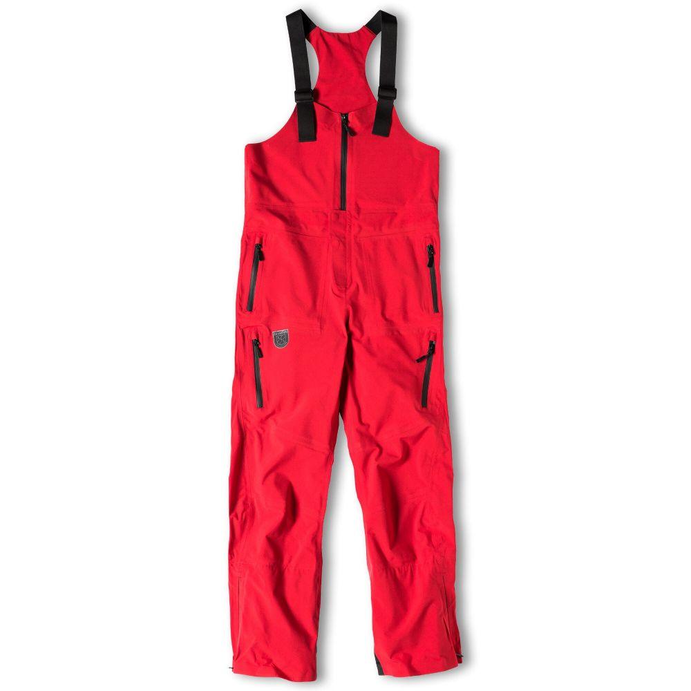 シャモニー Chamonix メンズ スキー・スノーボード ビブパンツ ボトムス・パンツ【Backside Bib Snowboard Pants】Crimson Red