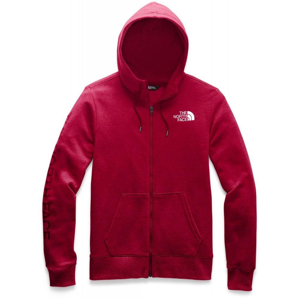 ザ ノースフェイス The North Face メンズ スキー・スノーボード パーカー トップス【Brand Proud Full Zip Hoodie】Cardinal Red Heather