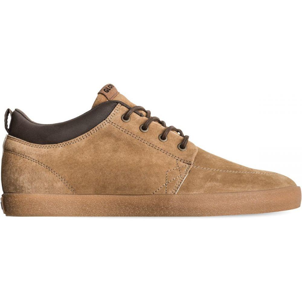 グローブ Globe メンズ スケートボード シューズ・靴【GS Chukka Skate Shoes】Dark Tan/Crepe