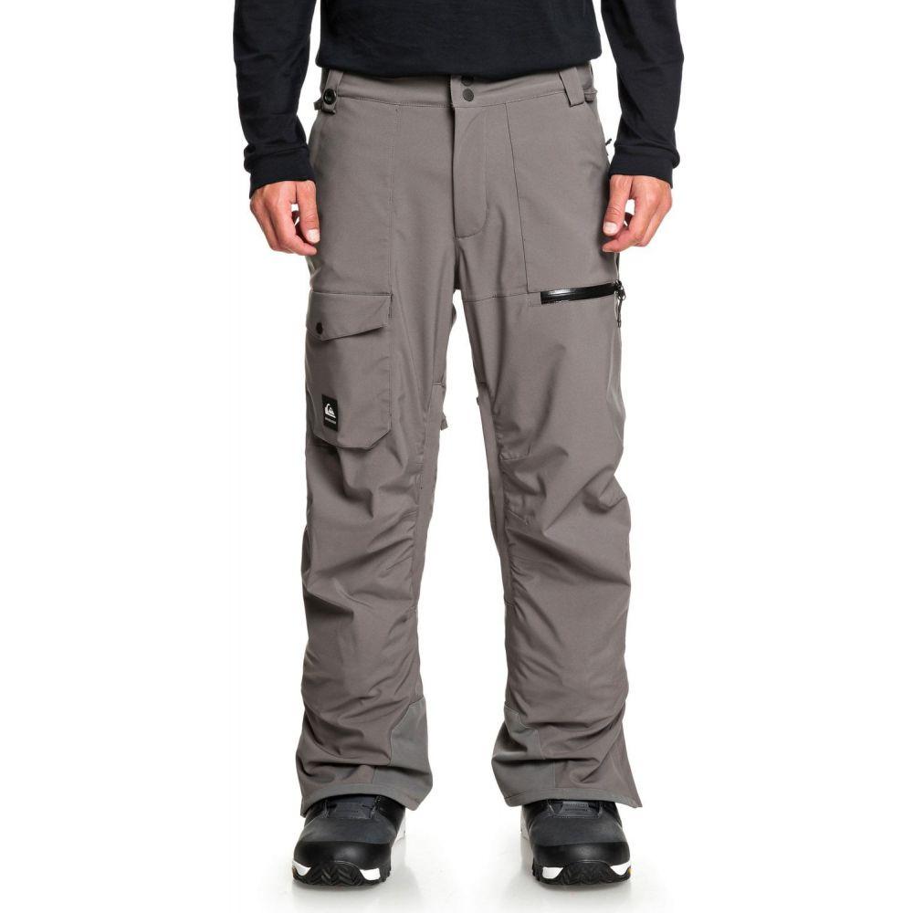 クイックシルバー Quiksilver メンズ スキー・スノーボード ボトムス・パンツ【Utility Short Snowboard Pants 2020】Castlerock