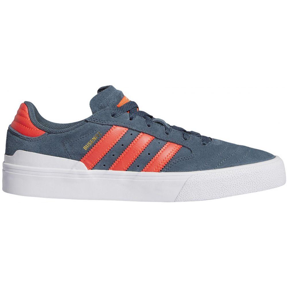アディダス Adidas メンズ スケートボード シューズ・靴【Busenitz Vulc II Skate Shoes】Legacy Blue/Solar Red/Footwear White