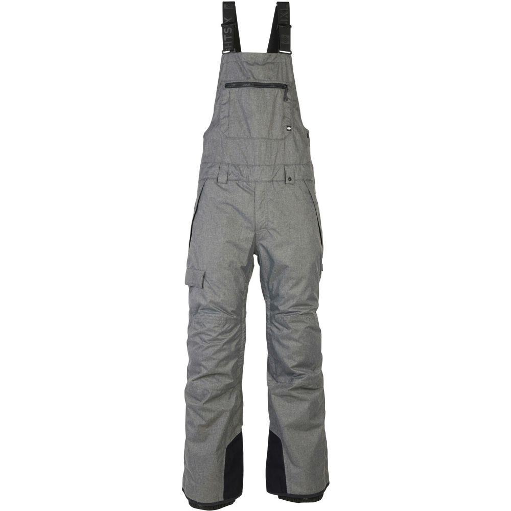 シックス エイト シックス 686 メンズ スキー・スノーボード ビブパンツ ボトムス・パンツ【Hot Lap Insulated Bib Snowboard Pants 2020】グレー Melange