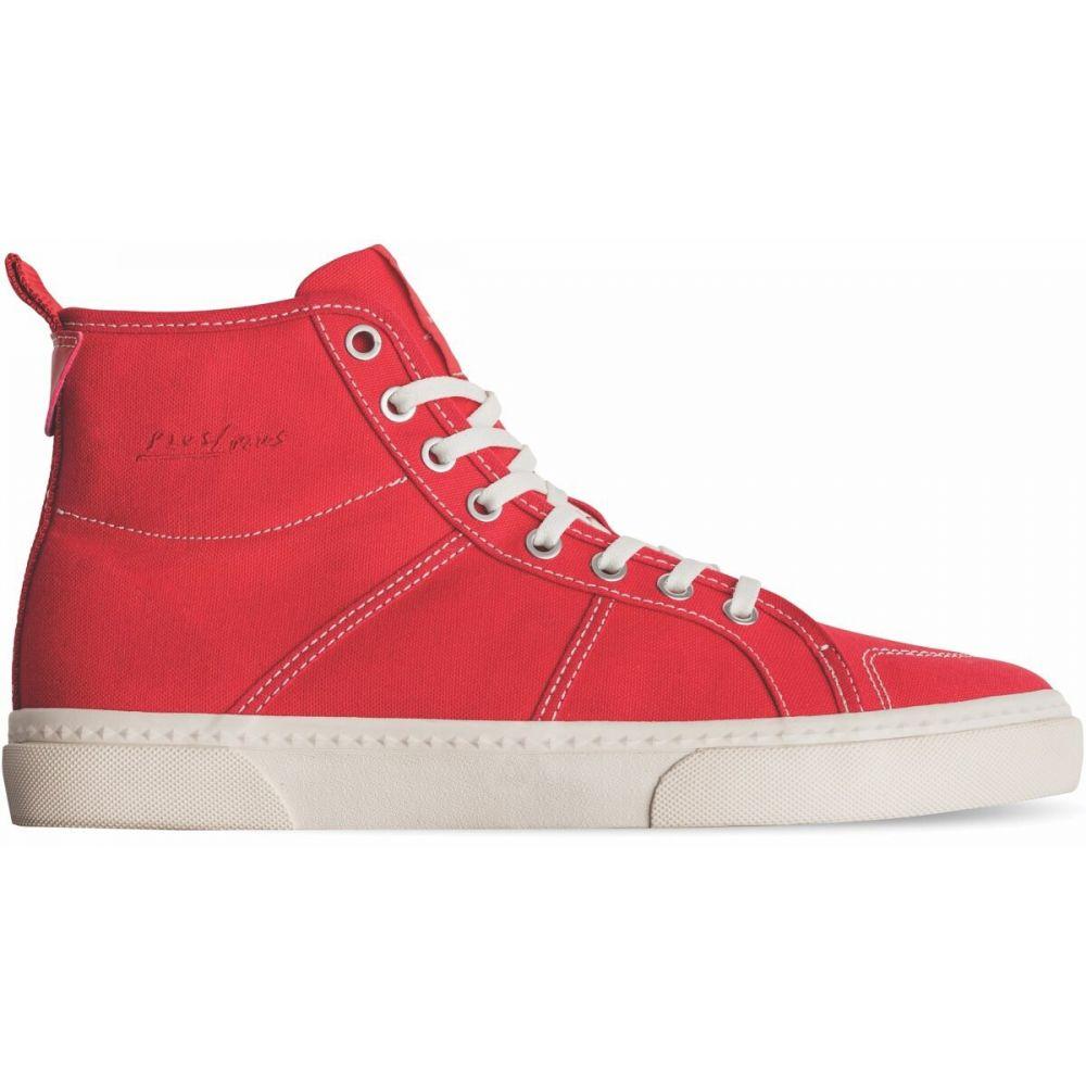 グローブ Globe メンズ スケートボード シューズ・靴【Los Angered II Skate Shoes】Red Canvas/Antique White