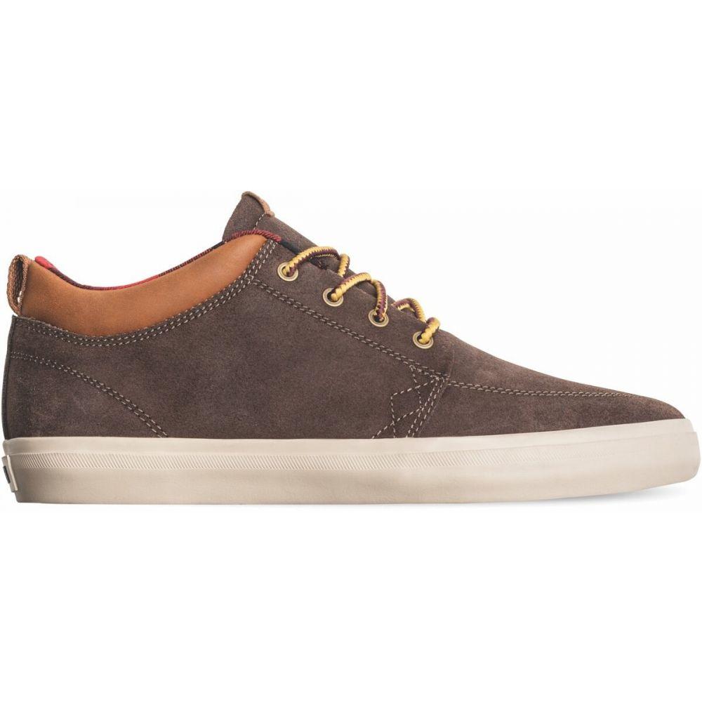 グローブ Globe メンズ スケートボード シューズ・靴【GS Chukka Skate Shoes】Dark Brown/Plaid