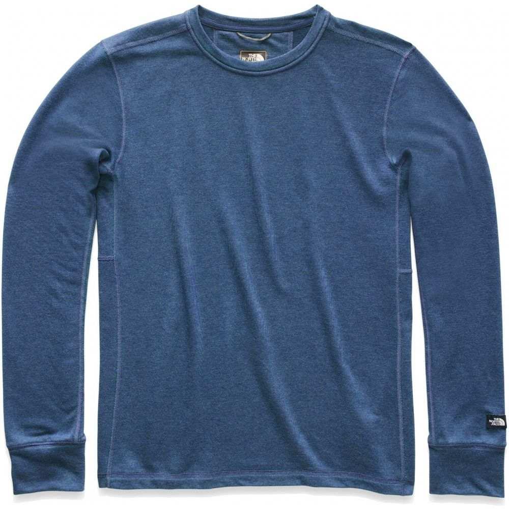 ザ ノースフェイス The North Face メンズ トップス 【Terry Crew L/S Shirt】Shady Blue