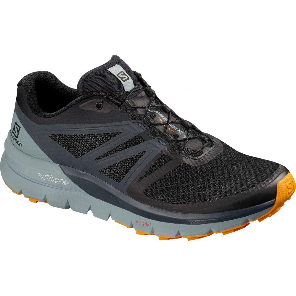 サロモン Salomon メンズ ランニング・ウォーキング シューズ・靴【Sense Max 2 Trail Running Shoes】Black/Lead/Flame Orange