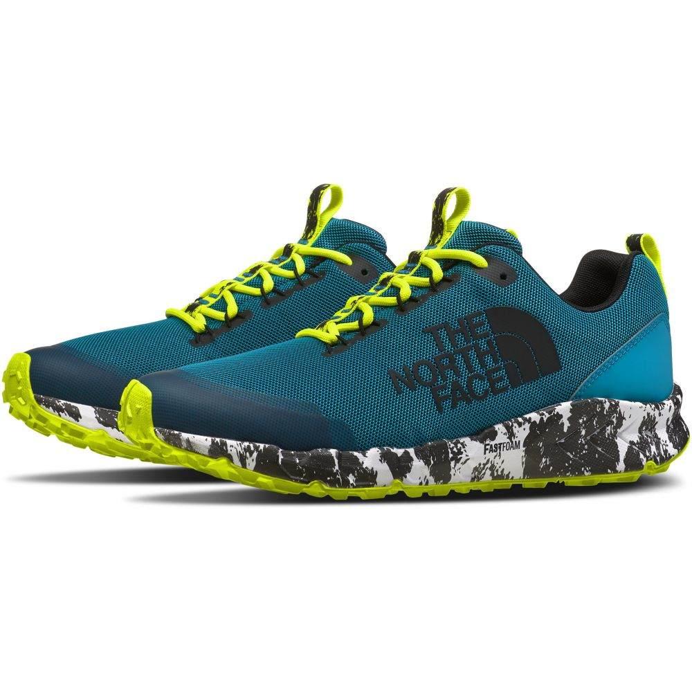 ザ ノースフェイス The North Face メンズ ランニング・ウォーキング シューズ・靴【Spreva Animal Running Shoes】Caribbean Sea/TNF Black