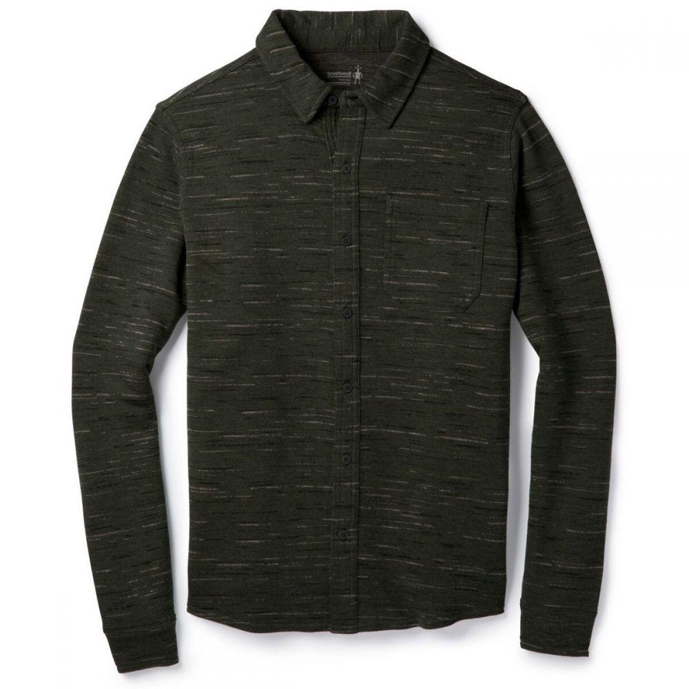 スマートウール Smartwool メンズ シャツ トップス【Merino 250 L/S Shirt】Olive/Black
