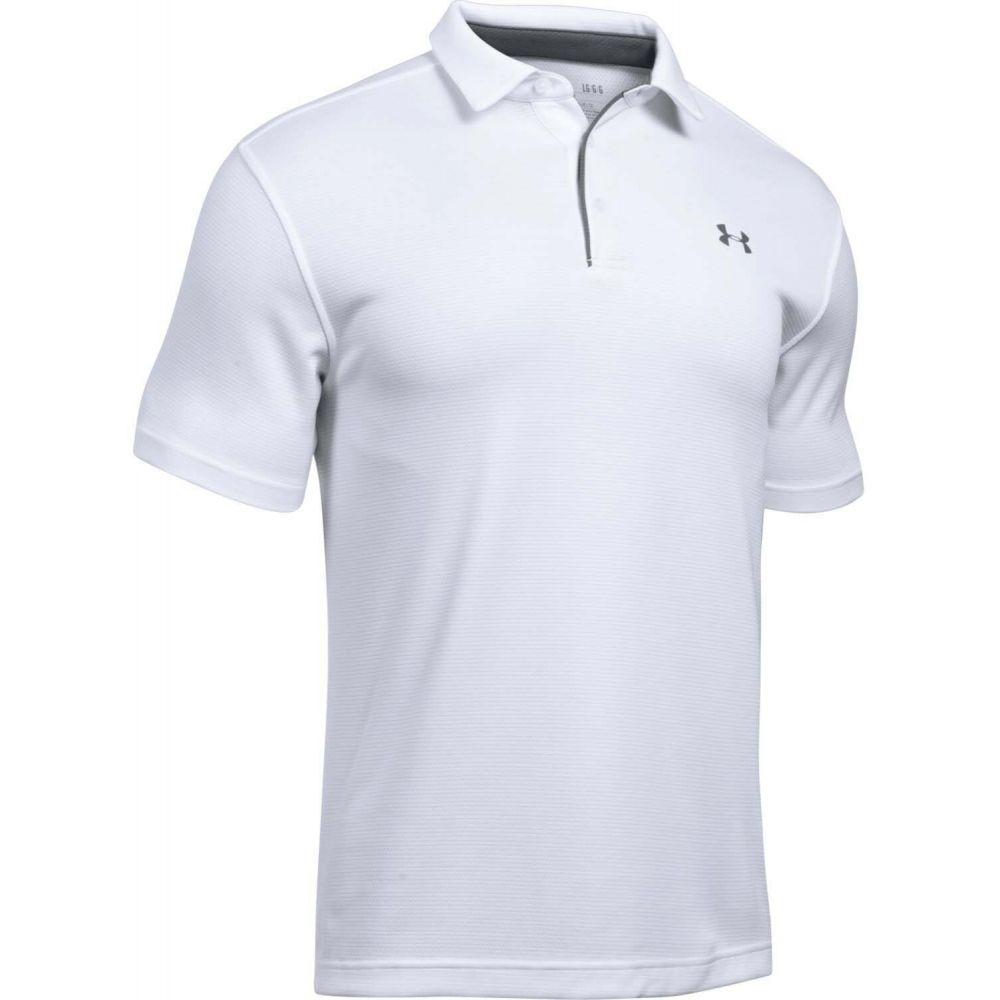 アンダーアーマー Under Armour メンズ ポロシャツ トップス【Tech Polo】White/Graphite