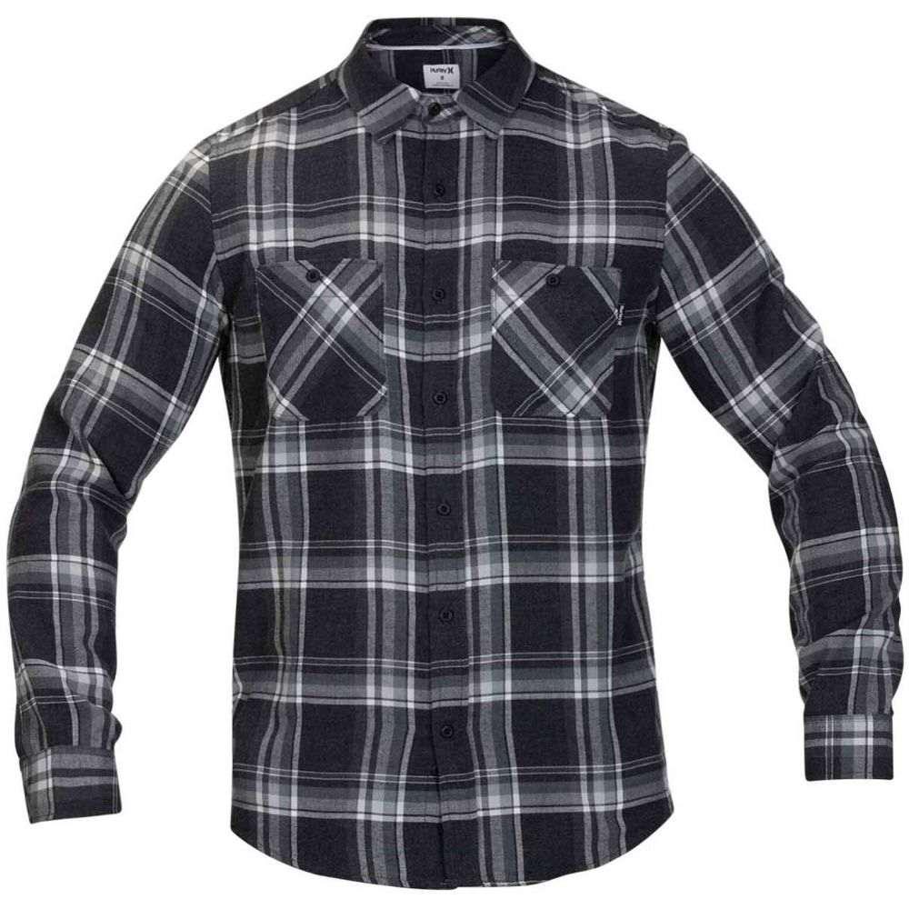 ハーレー Hurley メンズ シャツ トップス【Creeper Washed L/S Flannel】Black