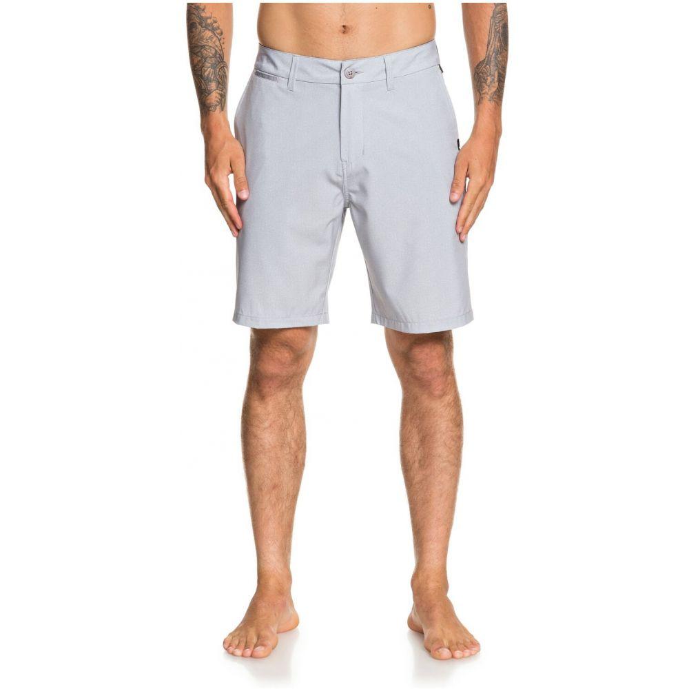 クイックシルバー Quiksilver メンズ ショートパンツ ボトムス・パンツ【Union Heather Amphibian 20in Hybrid Shorts】Sleet