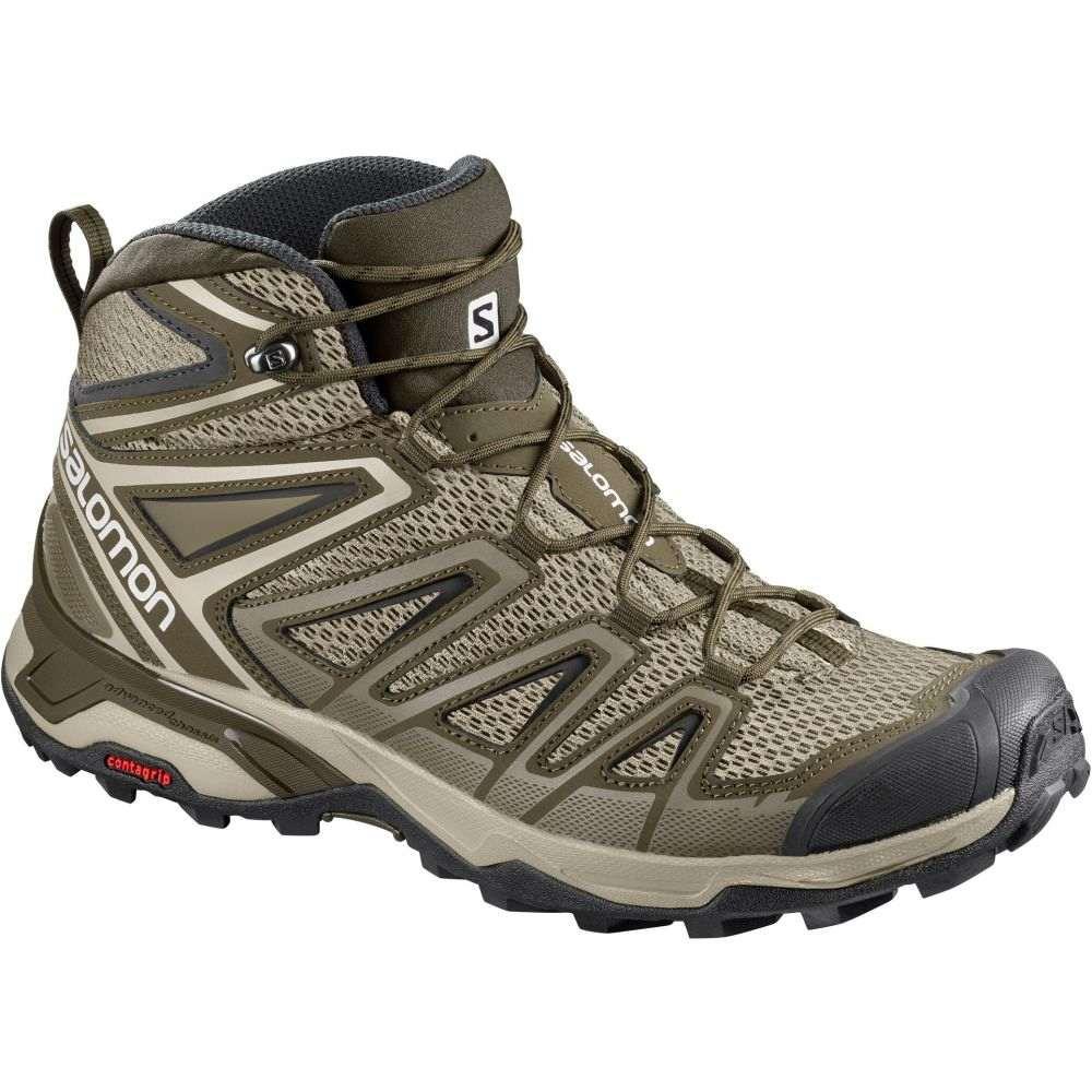 サロモン Salomon メンズ ハイキング・登山 シューズ・靴【X Ultra Mid 3 Aero Hiking Boots】Vintage Kaki/Wren/Black