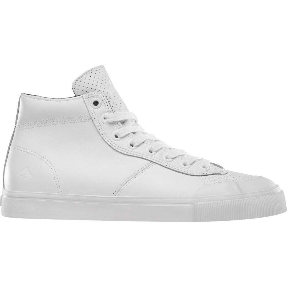 エメリカ Emerica メンズ スケートボード シューズ・靴【Indicator High Skate Shoes】White/Print