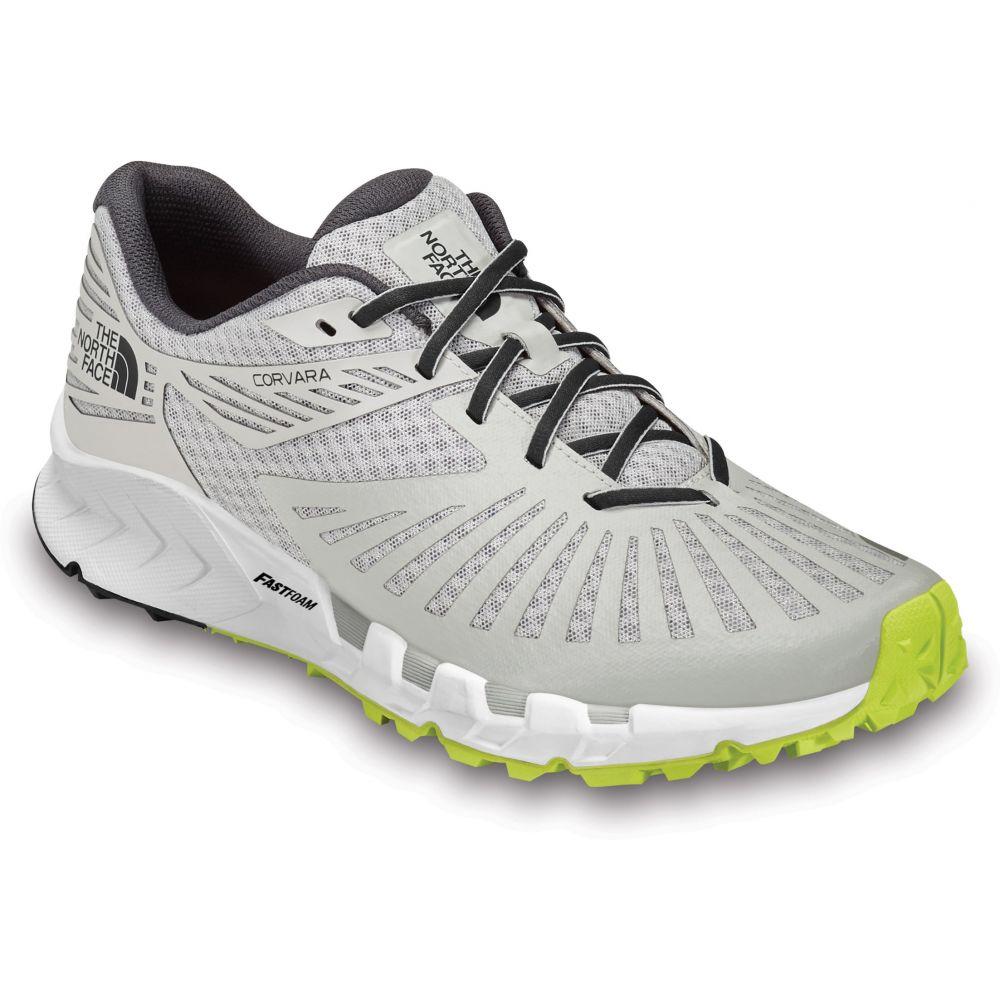 ザ ノースフェイス The North Face メンズ ランニング・ウォーキング シューズ・靴【Corvara Trail Running Shoes】Micro Chip Grey/Ebony Grey