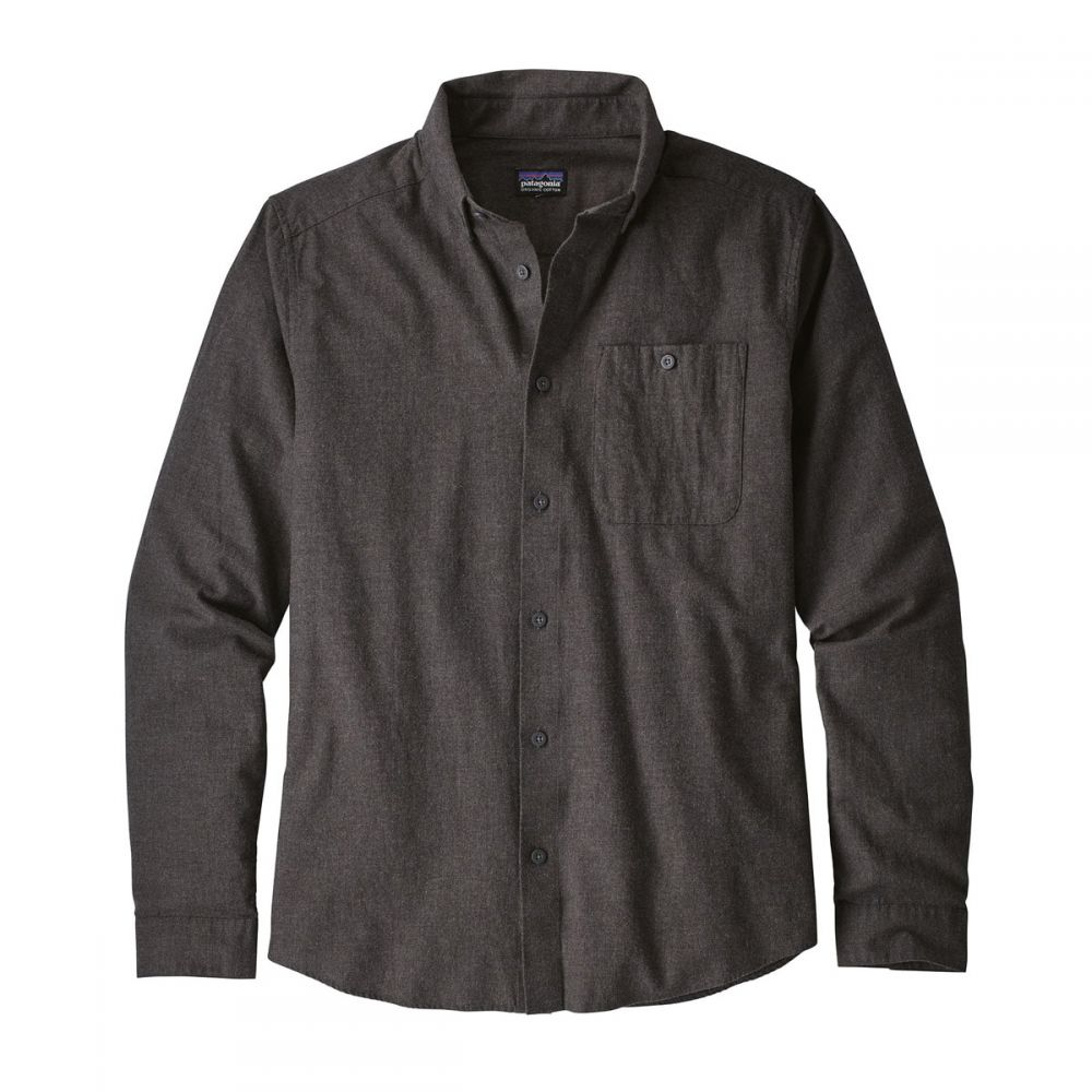 パタゴニア Patagonia メンズ シャツ トップス【Vjosa River Pima Cotton L/S Shirt】Forge Grey