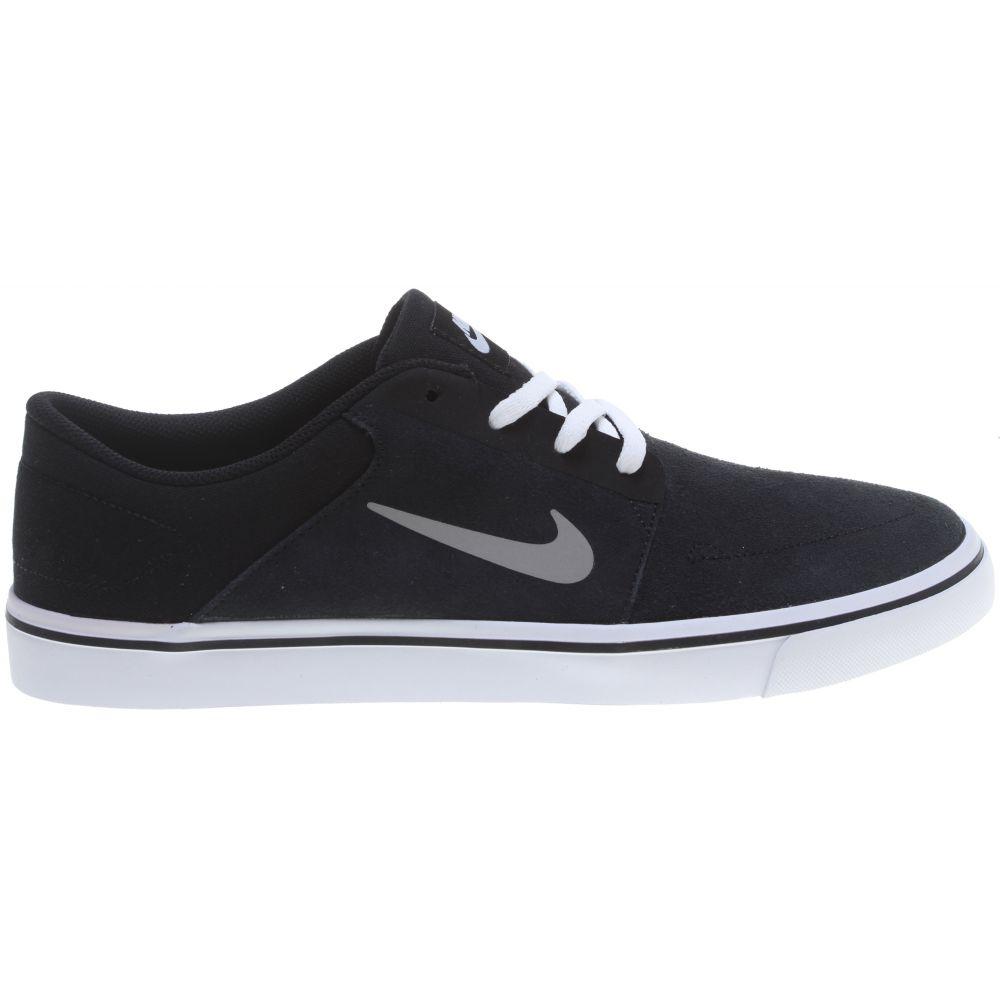 ナイキ Nike メンズ スケートボード シューズ・靴【SB Portmore Skate Shoes】Black/White/Gum Light Brown/Medium Grey