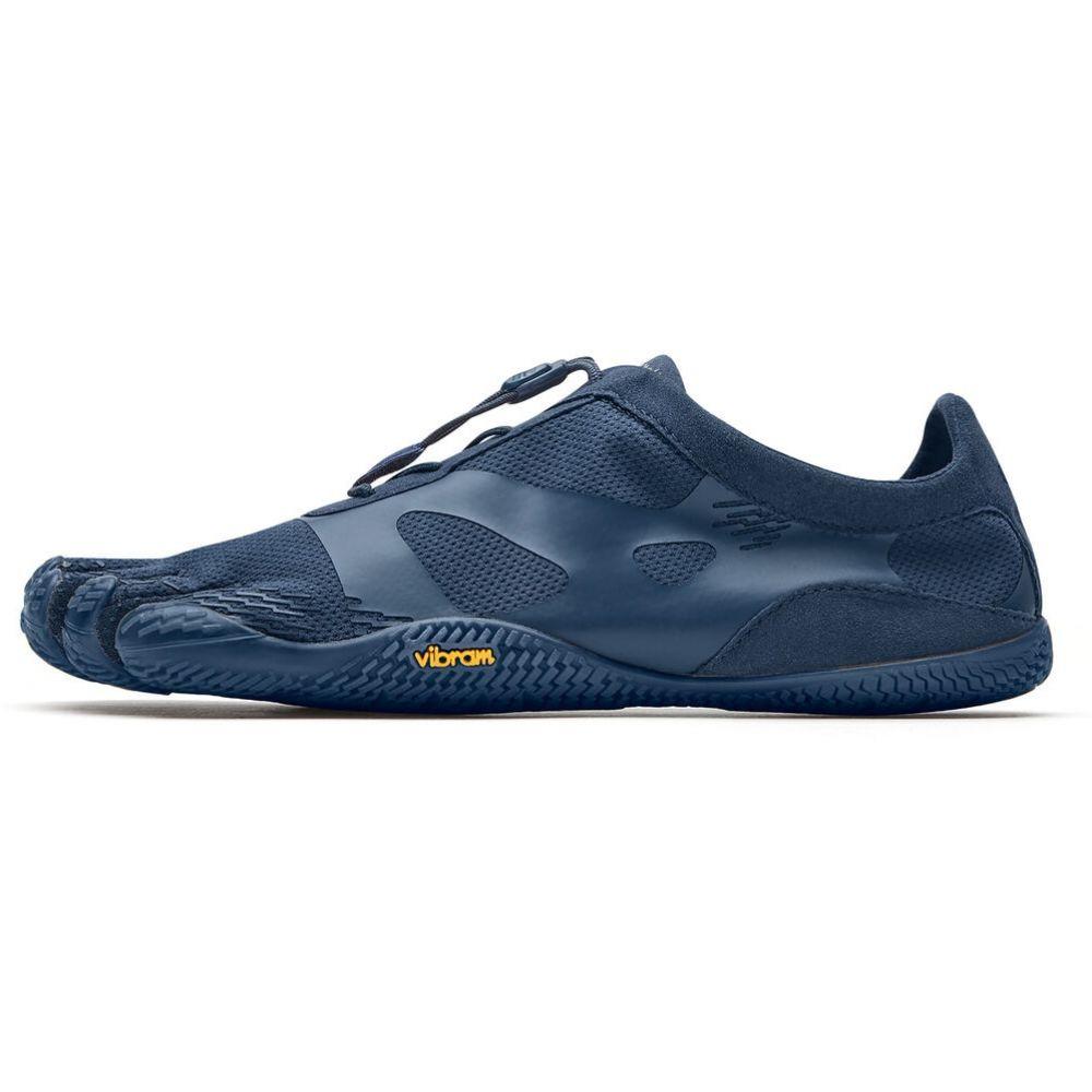 ビブラム Vibram メンズ ハイキング・登山 ファイブフィンガーズ シューズ・靴【FiveFingers KSO EVO Hiking Shoes】Navy/Navy