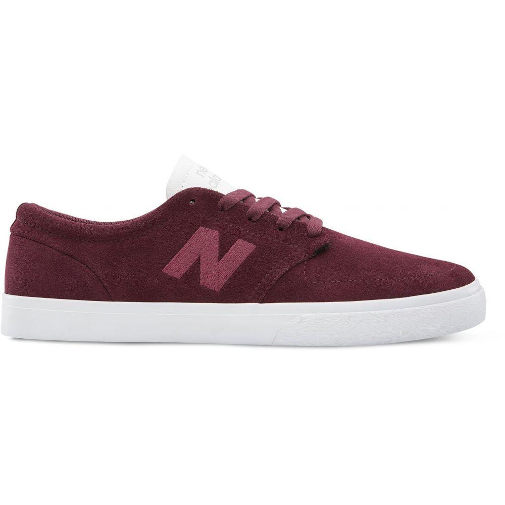 ニューバランス New Balance メンズ スケートボード シューズ・靴【Numeric 345 Skate Shoes】Burgundy/White