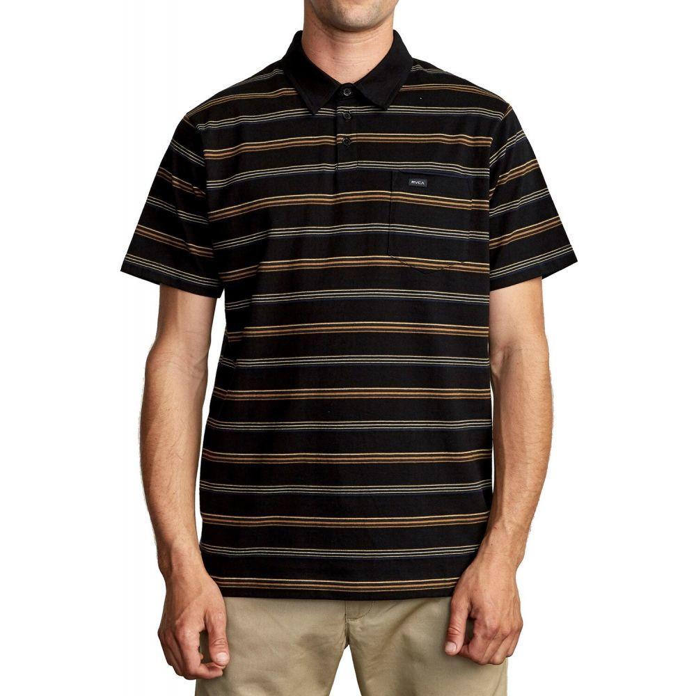 ルーカ RVCA メンズ ポロシャツ トップス【Merced Polo】Black