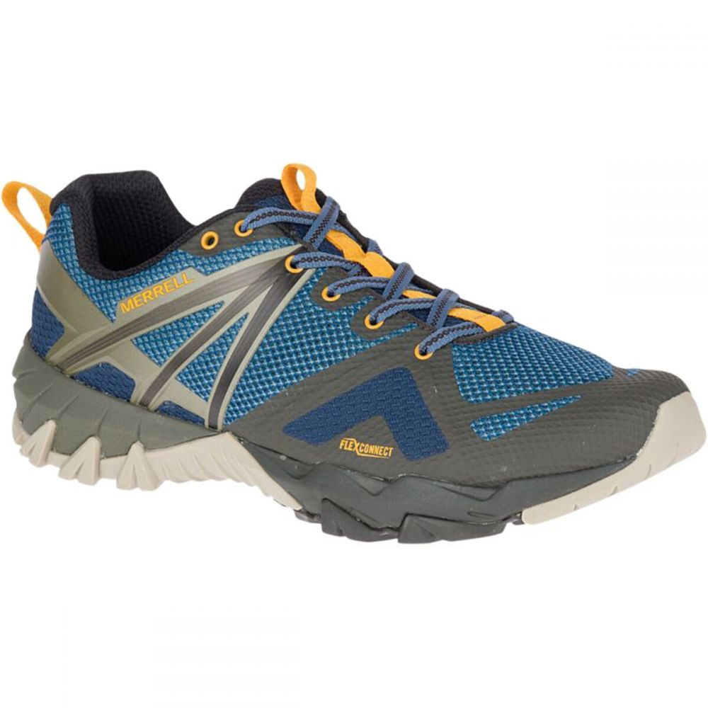 メレル Merrell メンズ ハイキング・登山 シューズ・靴【MQM Flex Hiking Shoes】Blue Wing