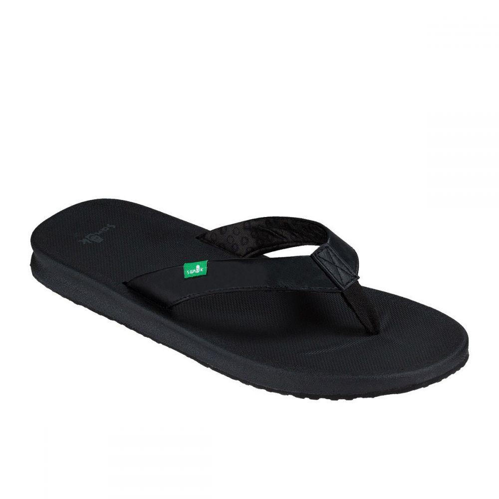 サヌーク Sanuk レディース サンダル・ミュール シューズ・靴【Yoga Mat Wander Sandals】Black