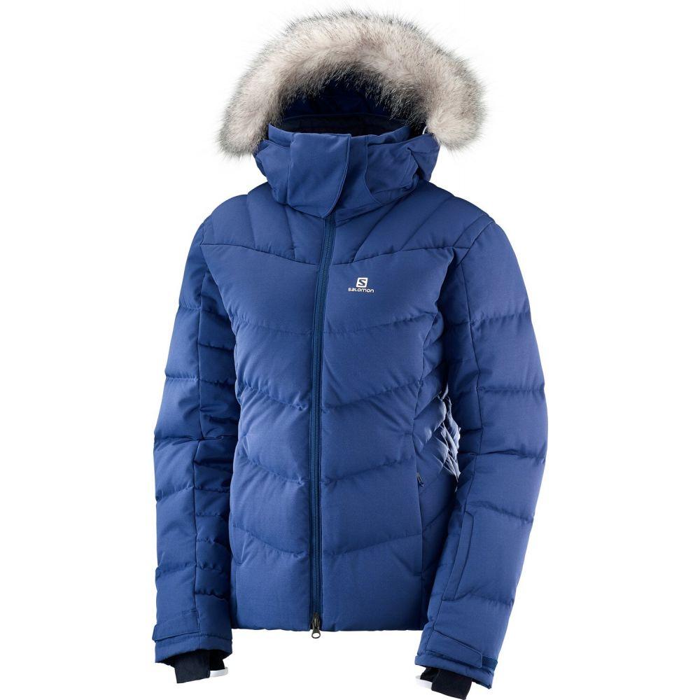 サロモン Salomon レディース スキー・スノーボード ジャケット アウター【Icetown Ski Jacket】Medieval Blue