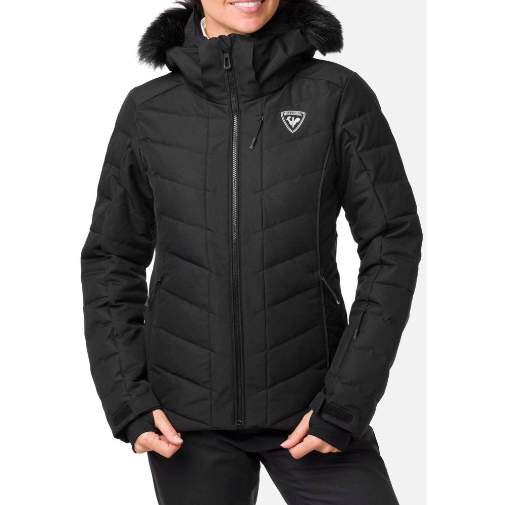 ロシニョール Rossignol レディース スキー・スノーボード ジャケット アウター【Rapide Ski Jacket】Black