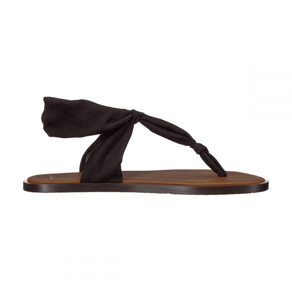 サヌーク Sanuk レディース サンダル・ミュール シューズ・靴【Yoga Sling Ella LX Sandals】Black