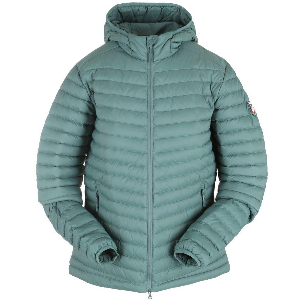 シャモニー Chamonix レディース ダウン・中綿ジャケット フード アウター【Cailly Hooded Down Jacket】Silver Pine