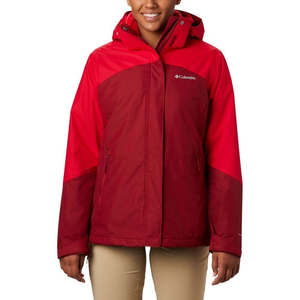 コロンビア Columbia レディース スキー・スノーボード ジャケット アウター【Bugaboo II Fleece Interchange Snowboard Jacket 2020】Beet/Red Lily