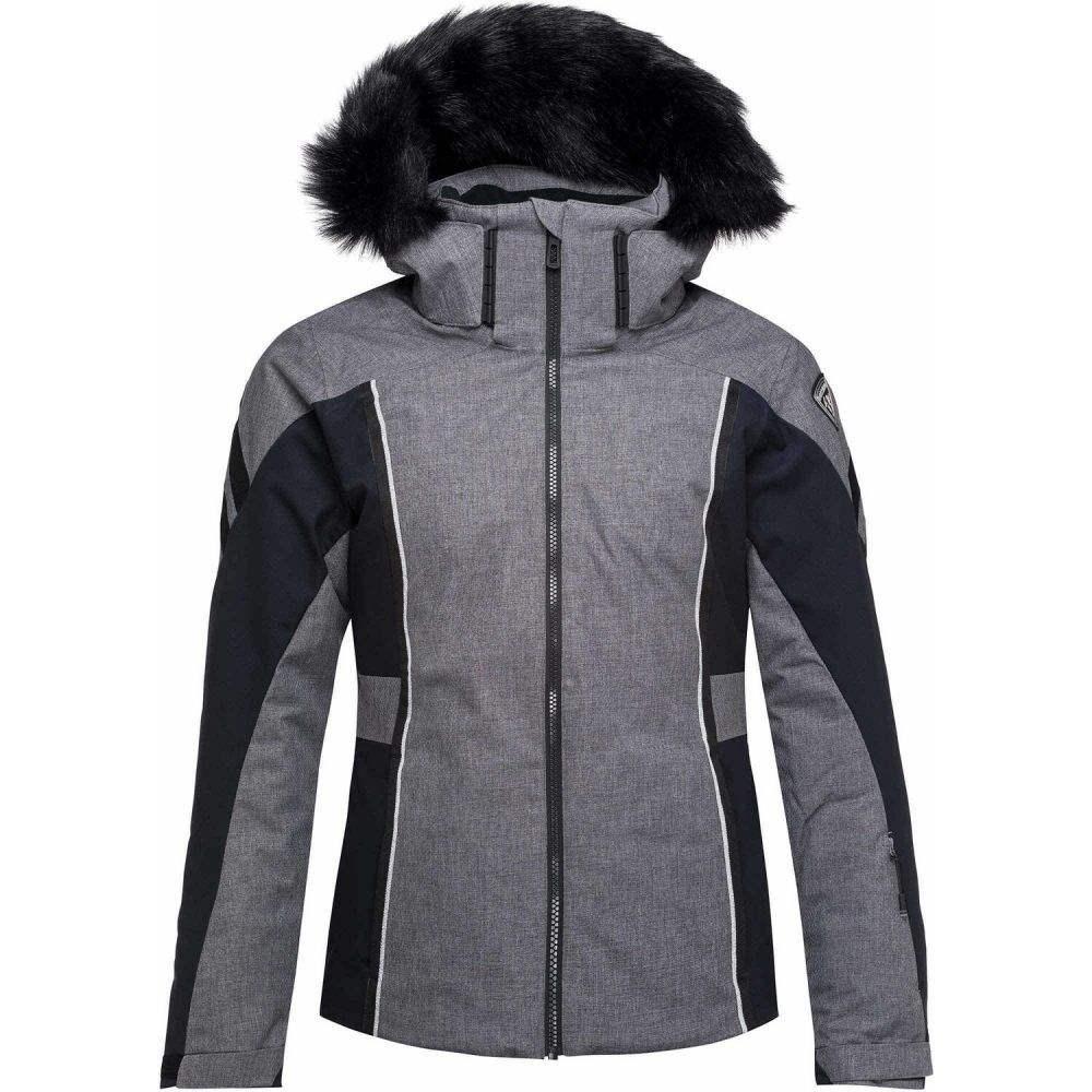 ロシニョール Rossignol レディース スキー・スノーボード ジャケット アウター【Ski Heather Ski Jacket】Heather Grey