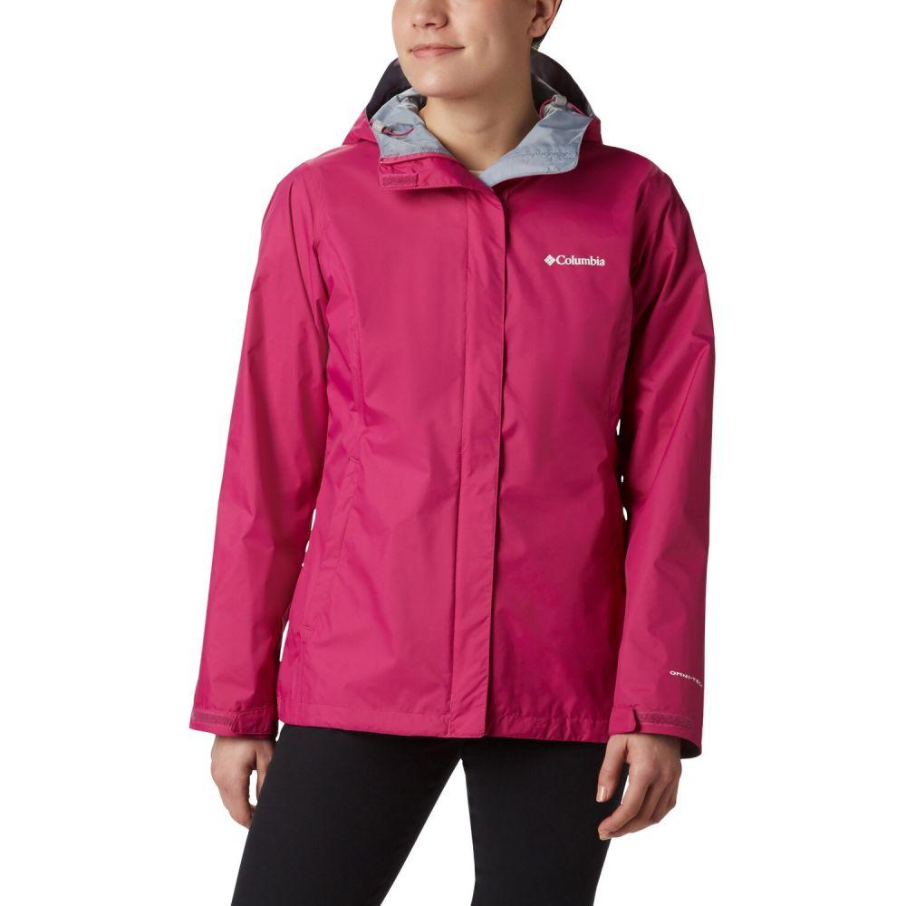 コロンビア Columbia レディース レインコート アウター【Arcadia II Rain Jacket】Fuchsia