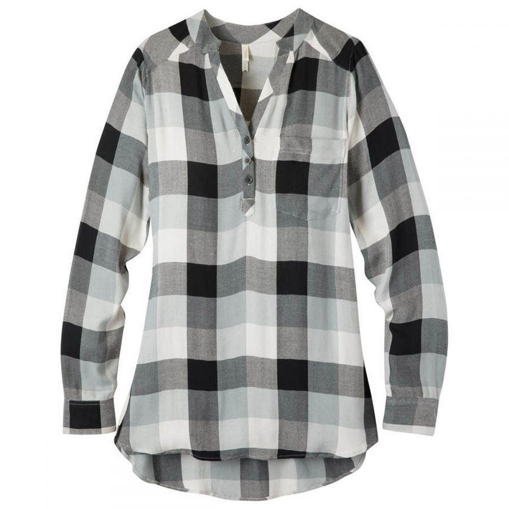 マウンテンカーキス Mountain Khakis レディース チュニック トップス【Josie Tunic L/S Shirt】Black Plaid