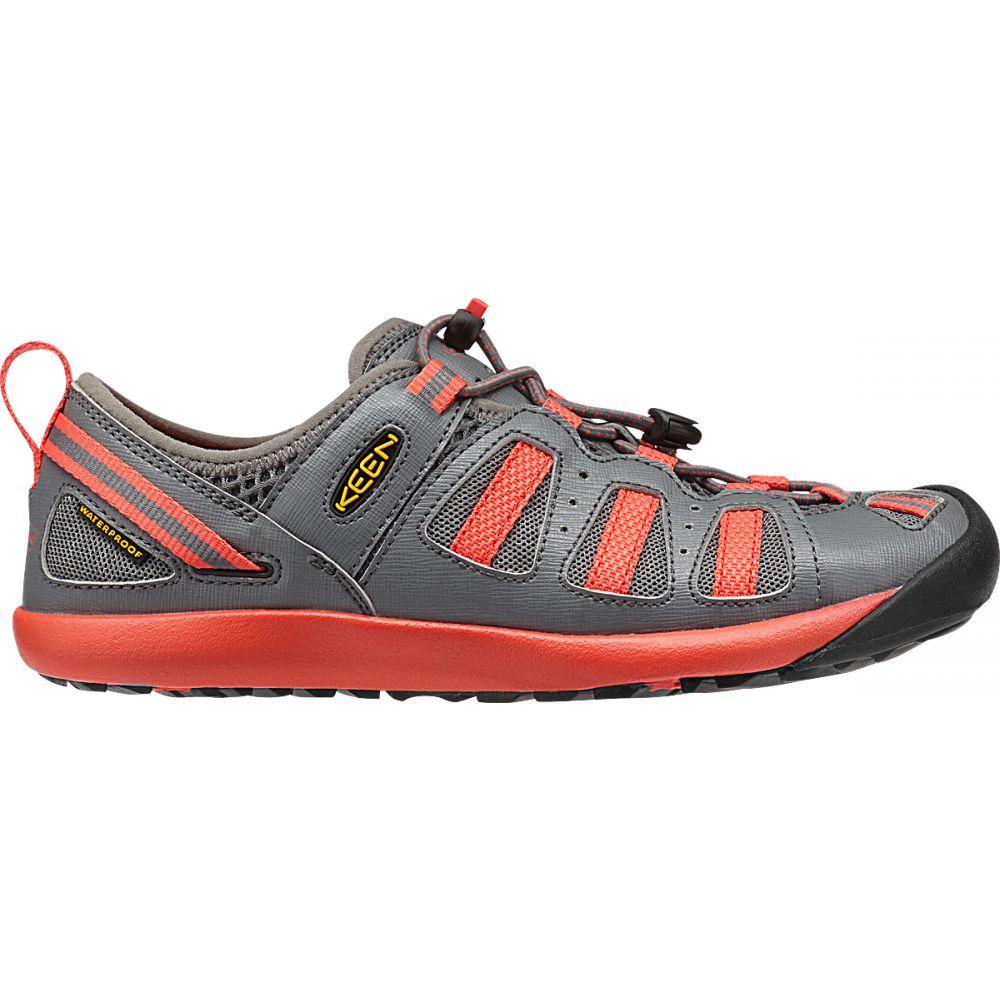 キーン Keen レディース スケートボード シューズ・靴【Class 5 Tech Skate Shoes】Gargoyle/Hot Coral