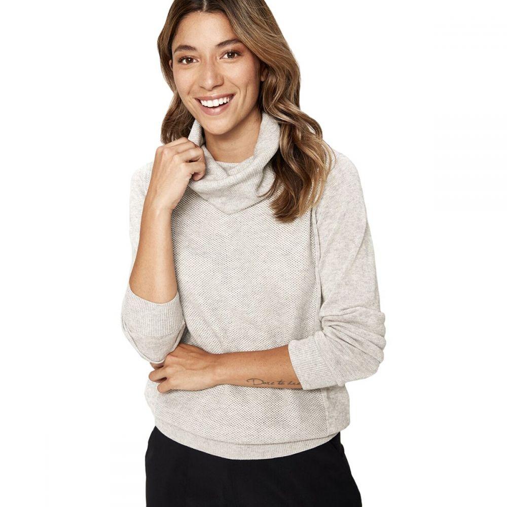 ロール Lole レディース ニット・セーター トップス【Madge Sweater】Light Grey Heather