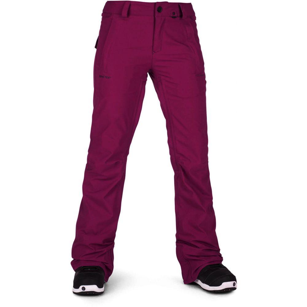 ボルコム Volcom レディース スキー・スノーボード ボトムス・パンツ【Flor Stretch Gore-Tex Snowboard Pants】Magenta