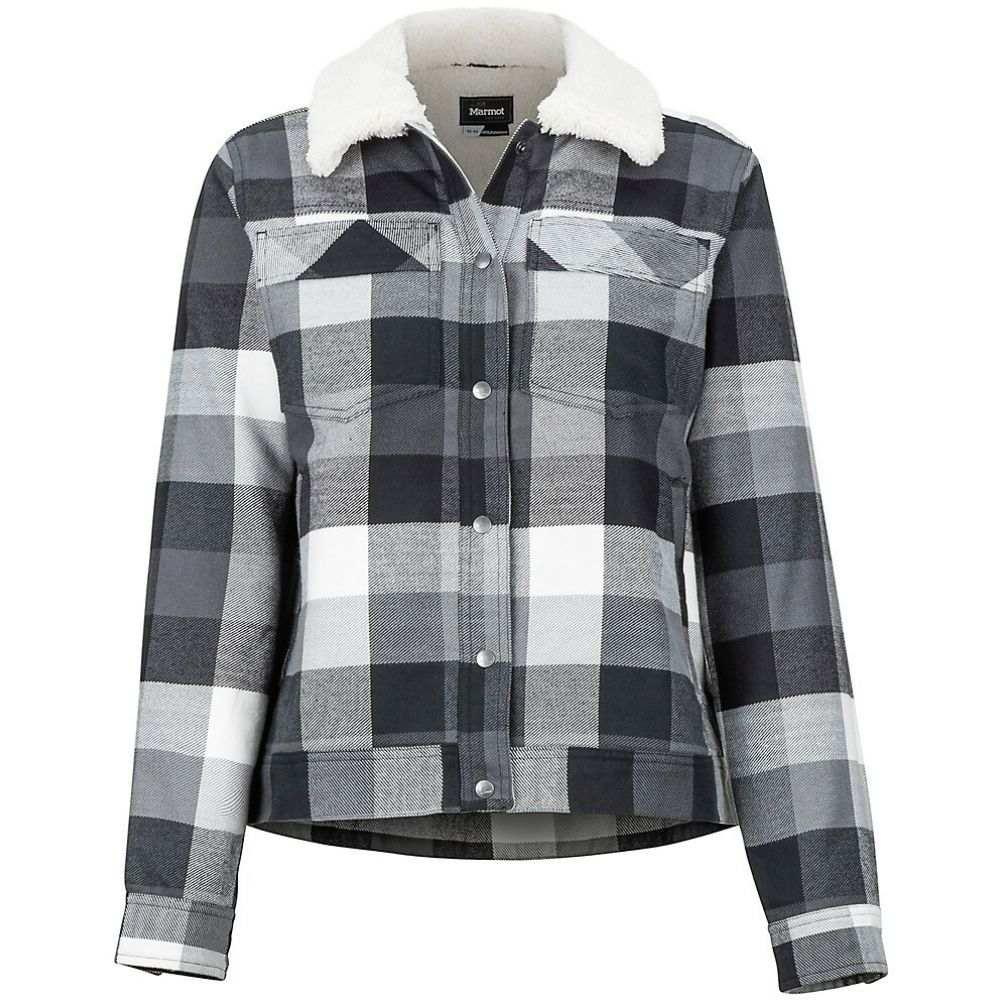 マーモット Marmot レディース ブラウス・シャツ トップス【Ridgefield Sherpa Lined Flannel】Black