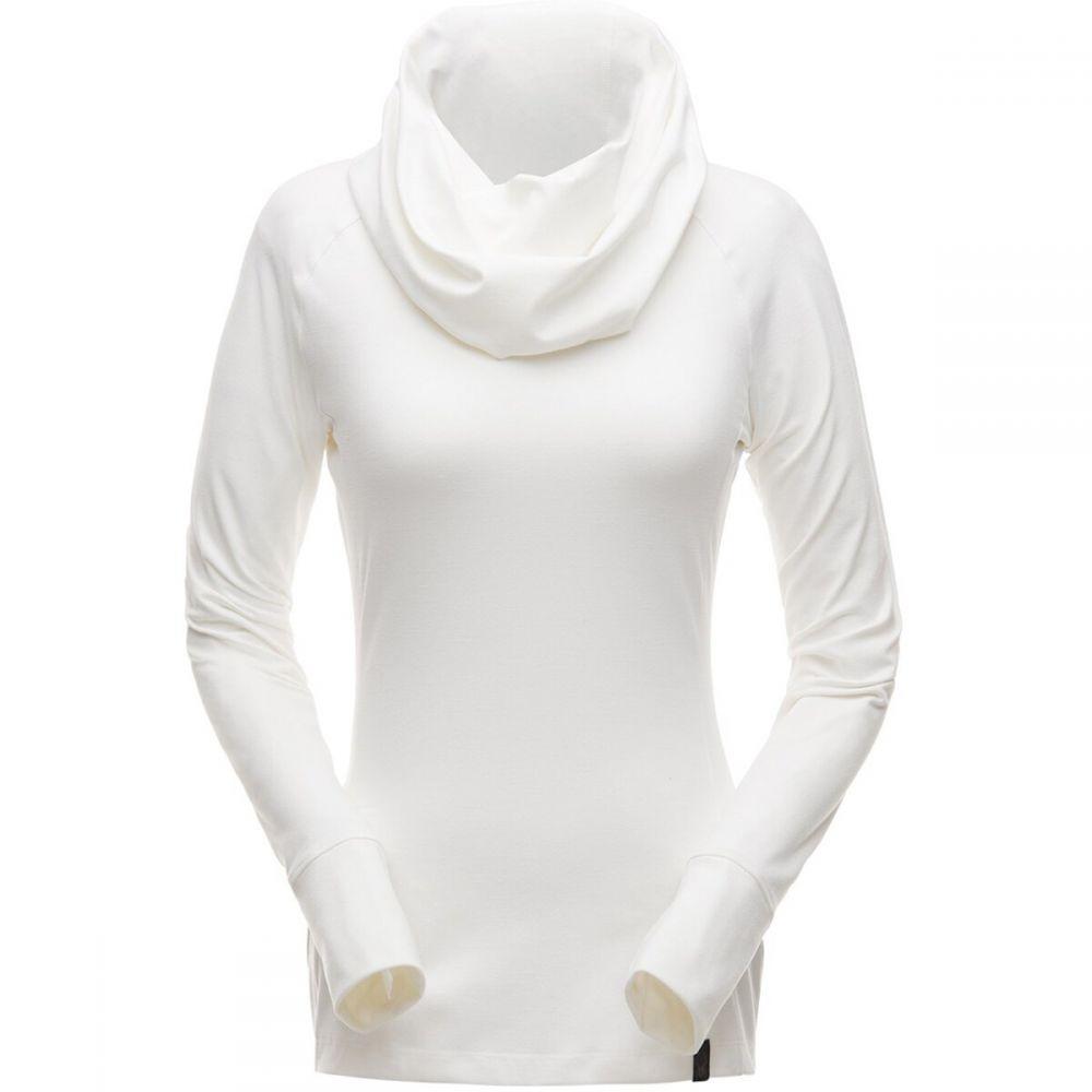 スパイダー Spyder レディース トップス 【Solitude Funnel-Neck L/S Shirt】White