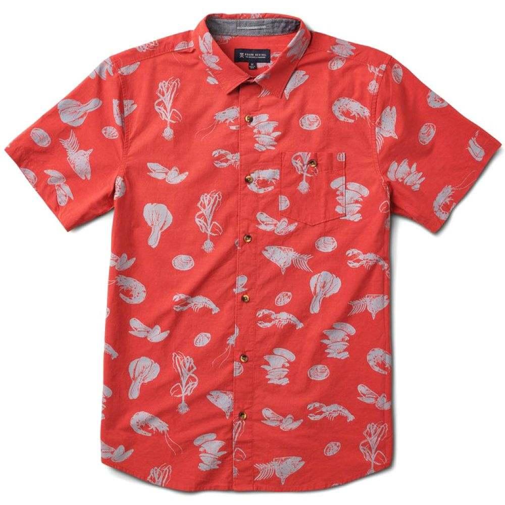 ローアク Roark メンズ シャツ トップス【Seafood Stew Shirt】Red