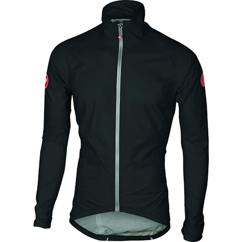 カステリ Castelli メンズ レインコート アウター【Emergency Rain Jacket】Black