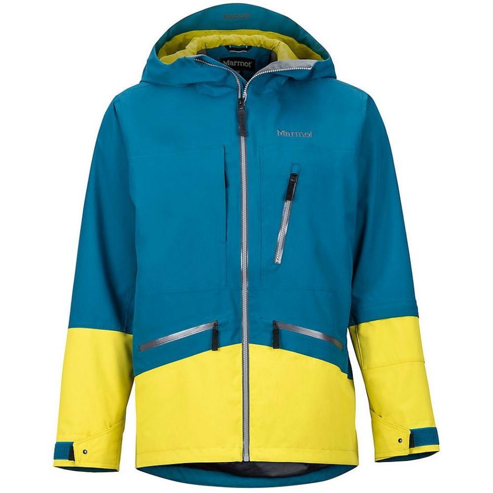 マーモット Marmot メンズ スキー・スノーボード ジャケット アウター【Moment Ski Jacket】Moroccan Blue/Citronelle