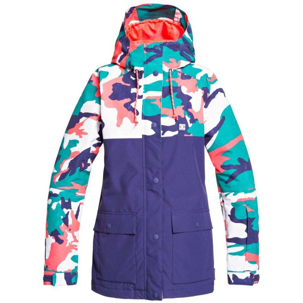 ディーシー DC レディース スキー・スノーボード ジャケット アウター【Cruiser Snowboard Jacket】Blue Grass Wmn Vintage Camo