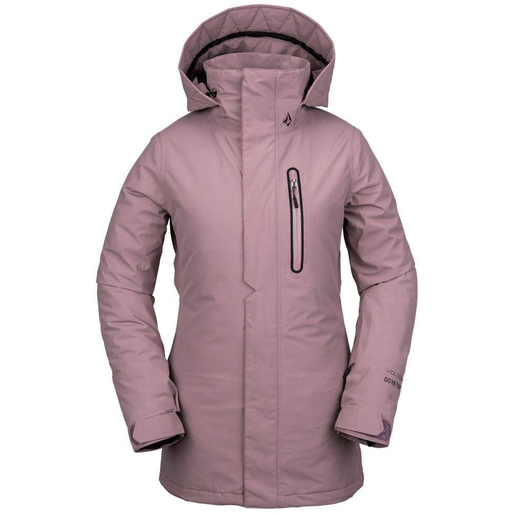 ボルコム Volcom レディース スキー・スノーボード ジャケット アウター【Eva Insulated Gore-Tex Snowboard Jacket】Purple Haze